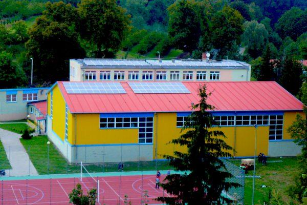 FVZ Areál szkoly Miasteczko Krajenskie