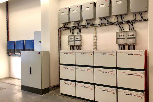 SMA hybridný systém s Li-Ion battery AXITEC